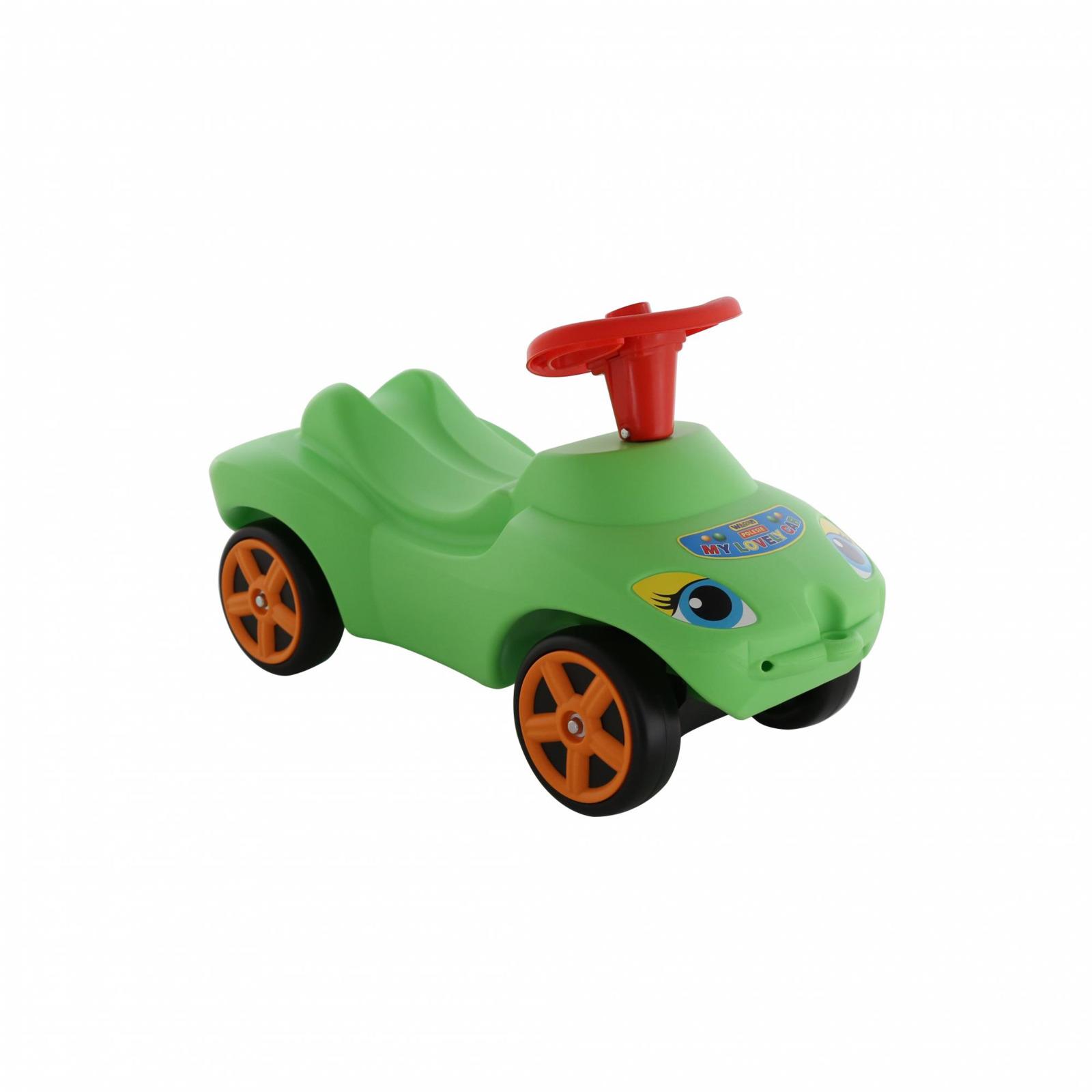 Фото - Каталка Полесье Мой любимый автомобиль, со звуковым сигналом, цвет в ассортименте полесье набор игрушек для песочницы 468 цвет в ассортименте