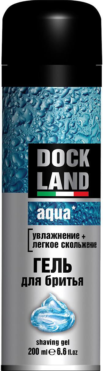 Гель для бритья Dockland Aqua, 200 мл косметика и средства для бритья