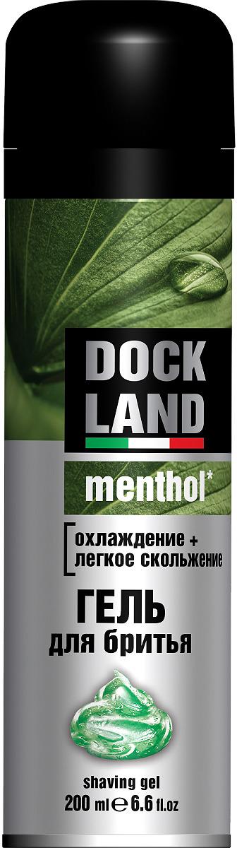 Гель для бритья Dockland Menthol, 200 мл