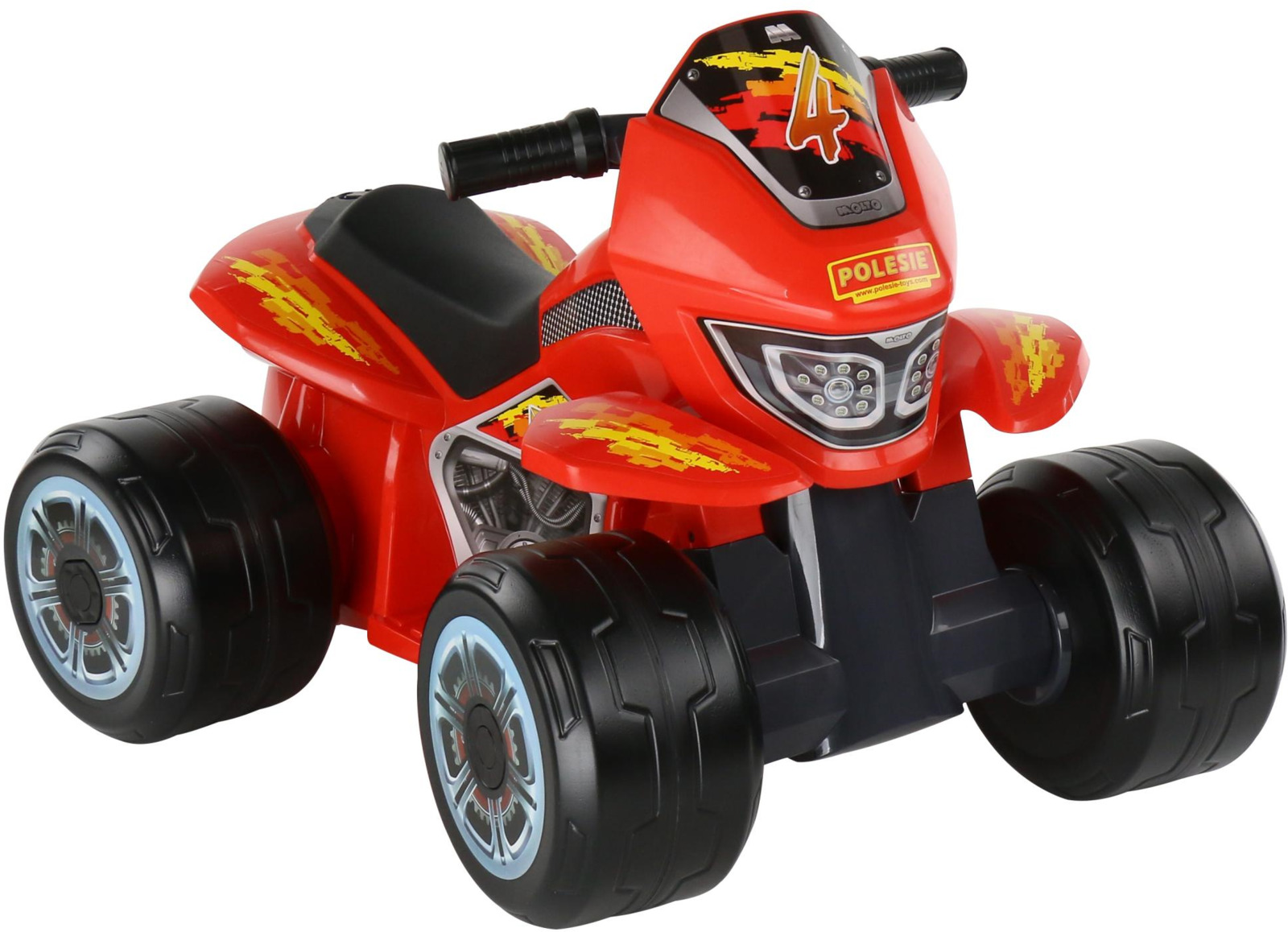 Квадроцикл-мини Полесье Molto, цвет в ассортименте