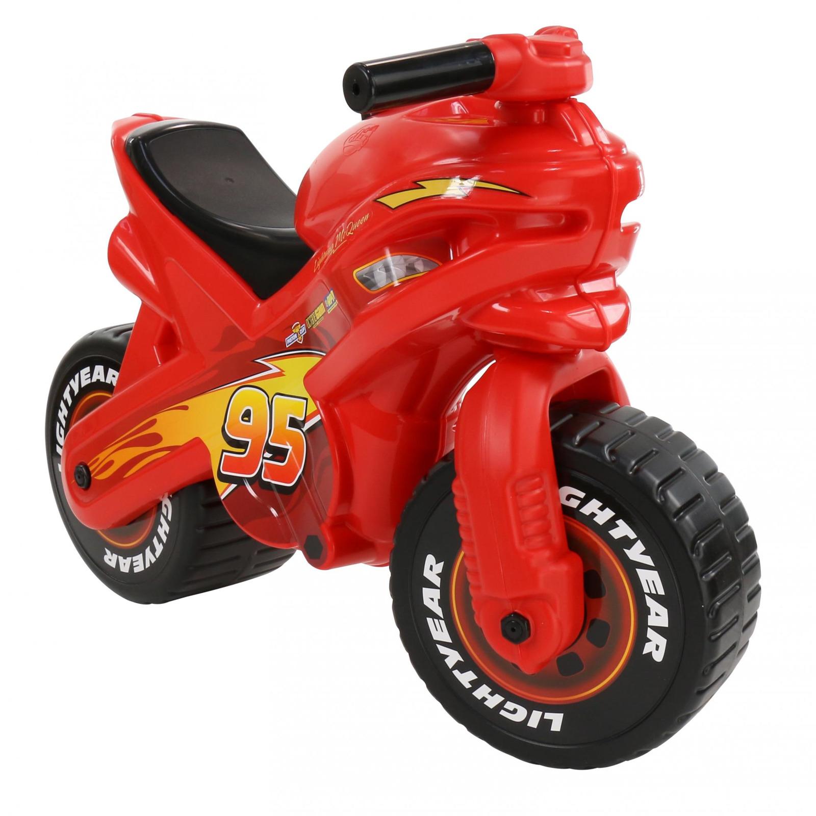 """Мотоцикл-каталка Полесье """"Disney/Pixar. Тачки"""", цвет в ассортименте"""