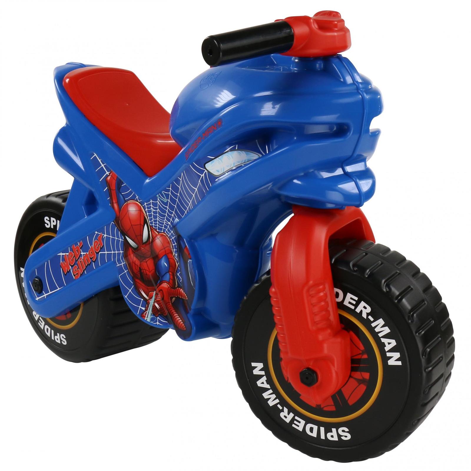 """Мотоцикл-каталка Полесье """"Marvel. Человек-паук"""", цвет в ассортименте"""