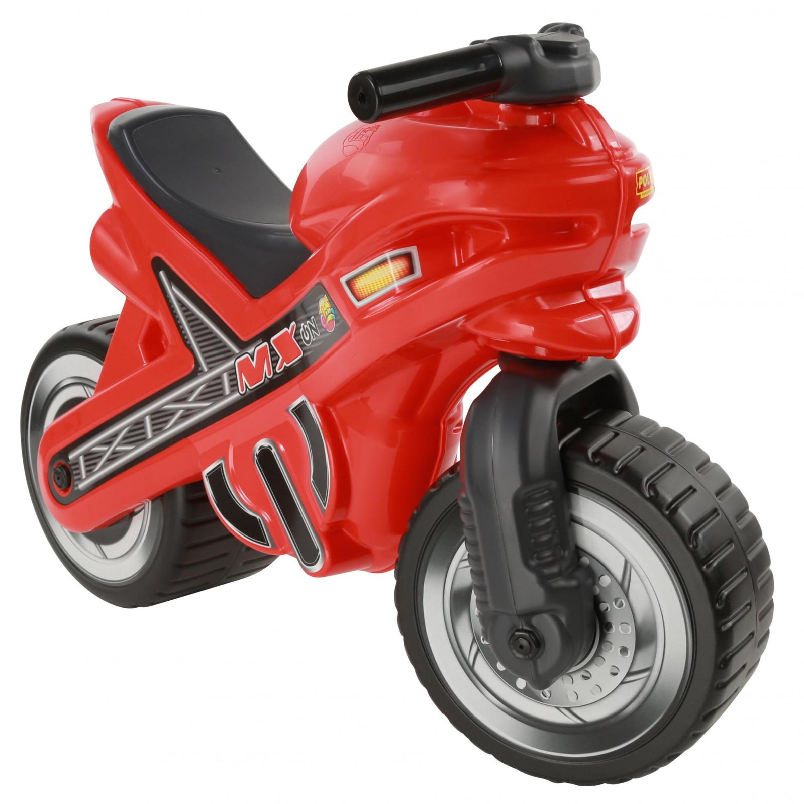 """Мотоцикл-каталка Полесье """"МХ"""", цвет в ассортименте"""