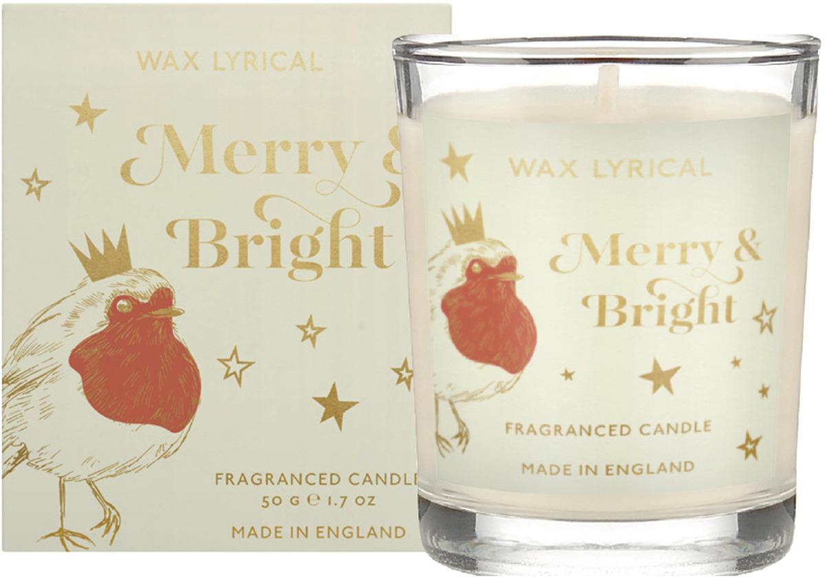 Свеча ароматическая лампадная Wax Lyrical Веселая ночь, 14 часов горения ароматическая лампадная свеча зимний вечер