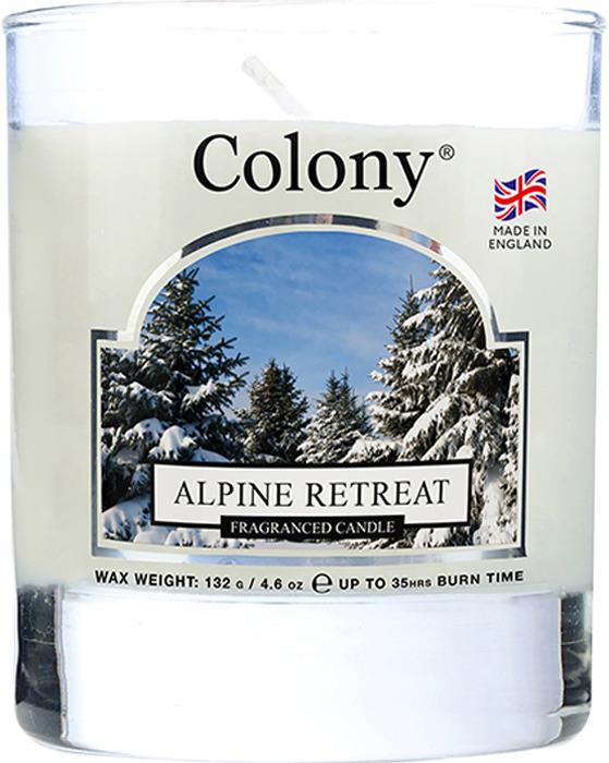 Свеча ароматическая Wax Lyrical Альпийский лес, в стеклянной банке, 35 часов горения свеча ароматическая лампадная wax lyrical альпийский лес 16 часов горения