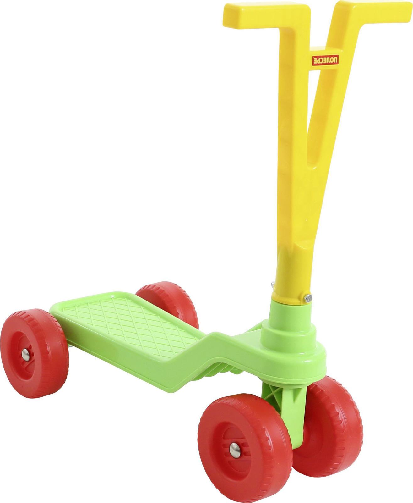 Самокат детский Полесье , четырехколесный, цвет в ассортименте