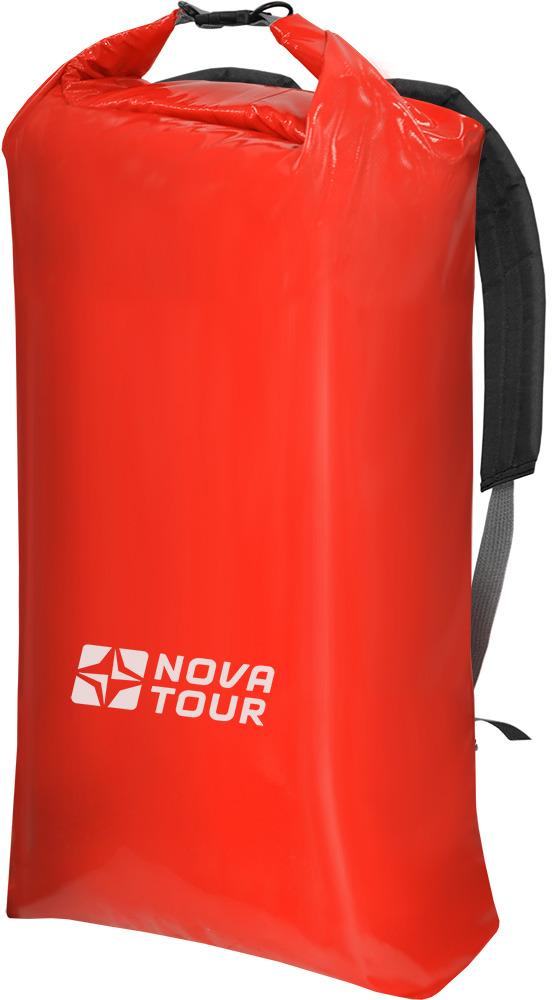 Герморюкзак Nova Tour Садко, цвет: красный, 60 л кастрюля nova tour инферно с крышкой сковородой цвет металлик красный 1 7 л