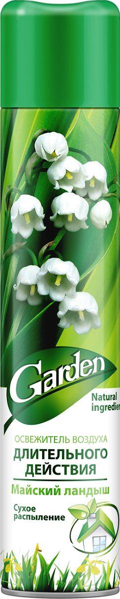 """Освежитель воздуха Garden """"Майский ландыш"""" Сухое распыление: без пятен, аромат держится дольше! Выгодный объём - 345 мл!"""