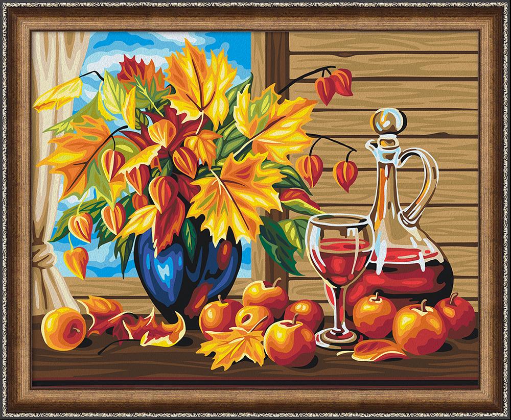 """Картина по номерам Мосфа """"Дары осени"""" (7C-0266), 29 цветов, 40см*50см"""
