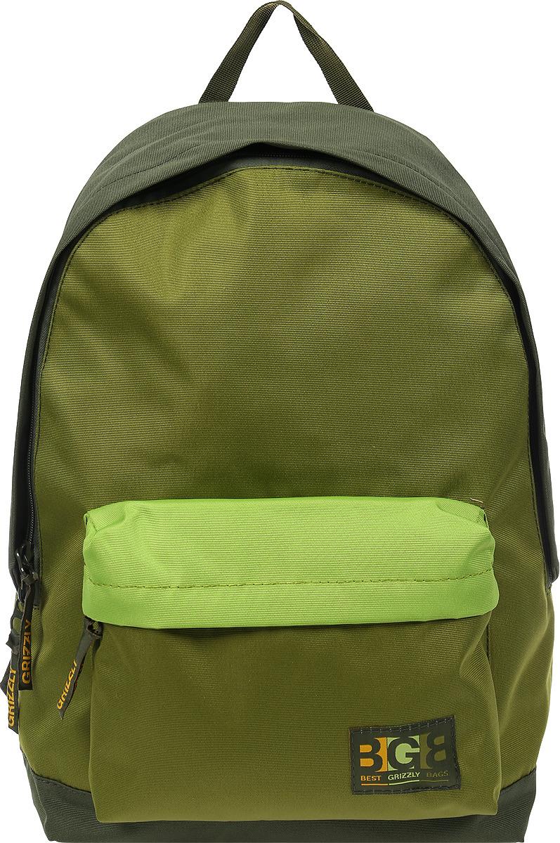 Рюкзак Grizzly рюкзак молодежный grizzly 7 л rl 859 2 1
