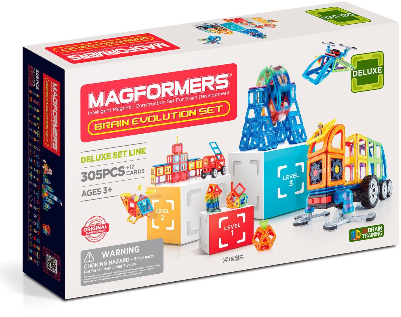Магнитный конструктор Magformers Brain Evolution Set