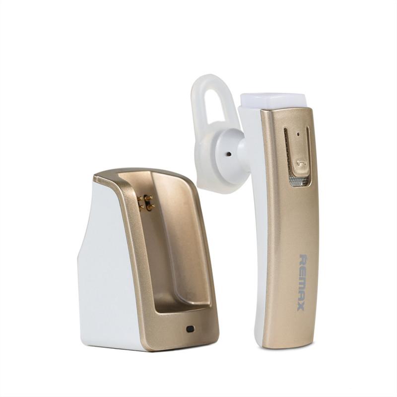 Bluetooth-гарнитура REMAX RB-T6С, Gold