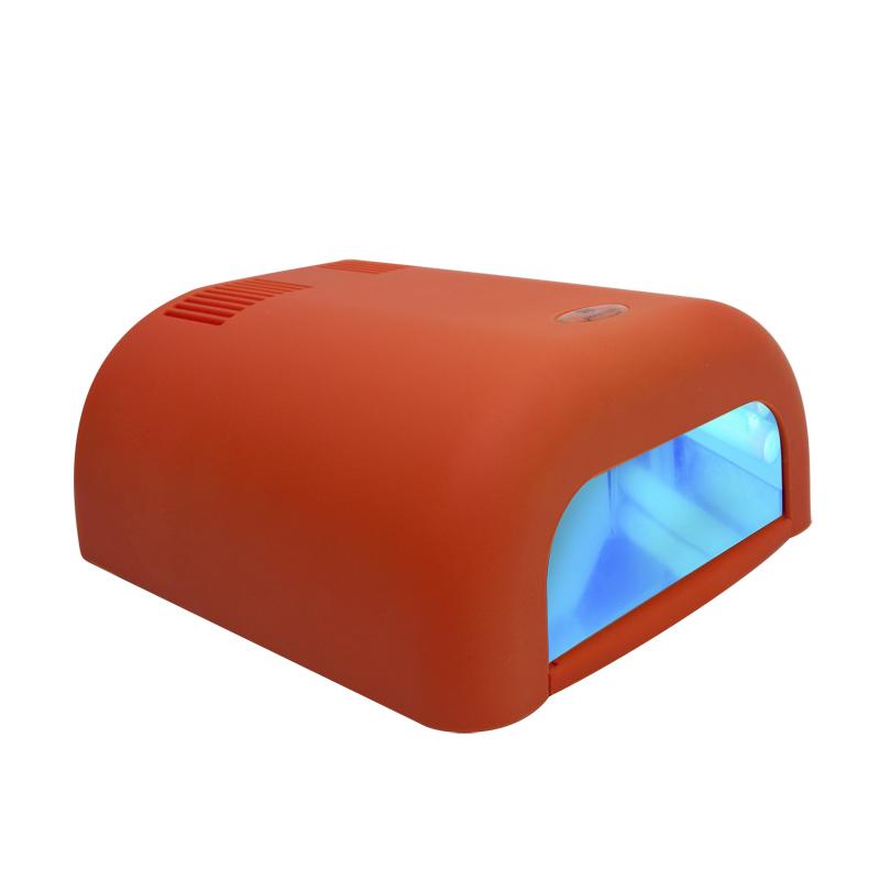 цена на Ультрафиолетовая лампа Planet Nails ASN Tunnel. Велюр, 36W, цвет: оранжевый