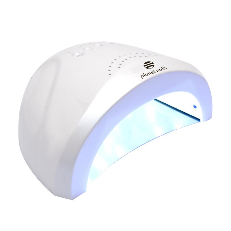 LED/УФ лампа Planet Nails 24/48W Magnetic белая led уф лампа 48w priority