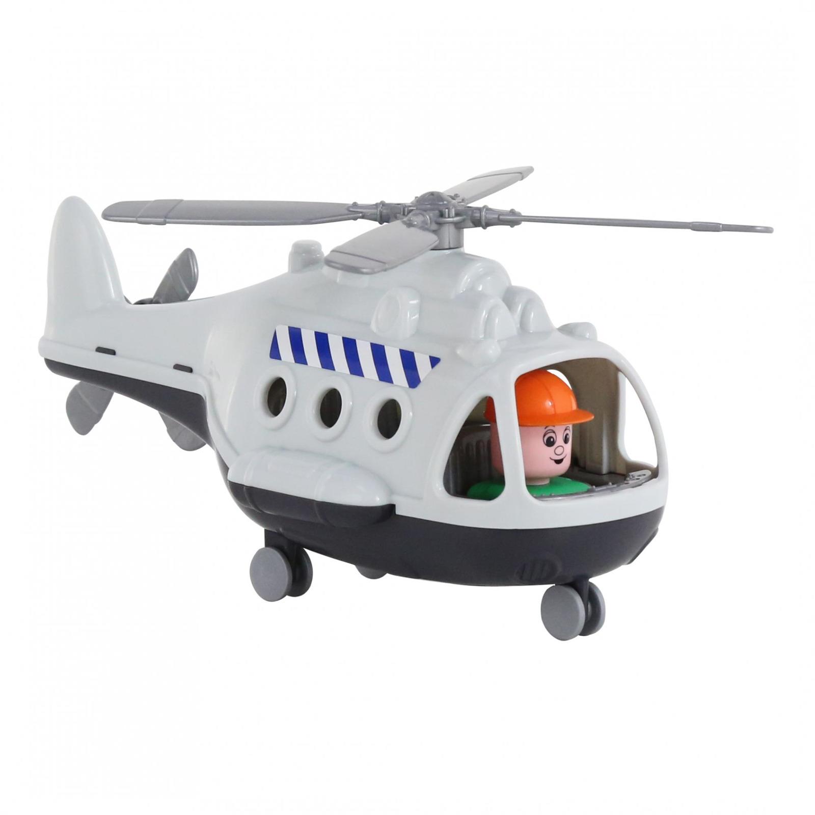 Вертолет грузовой Полесье Альфа. 68828, цвет в ассортименте игрушка полесье альфа 68729