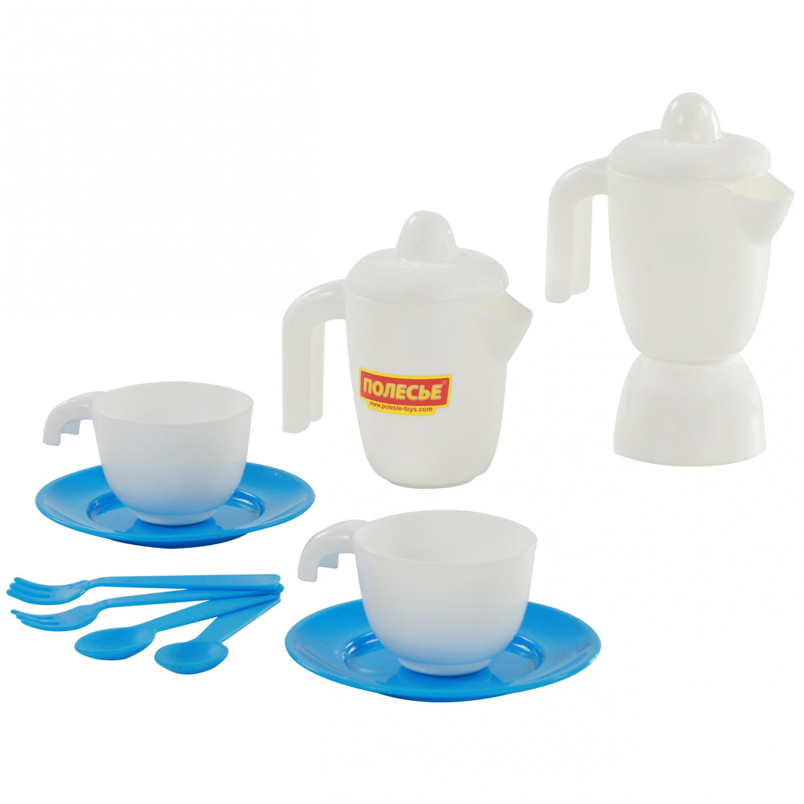 Набор детской посуды Полесье TOP Chef, на 2 персоны, 12 элементов, цвет в ассортименте игра полесьенабор детской посуды top chef с корзинкой 42637