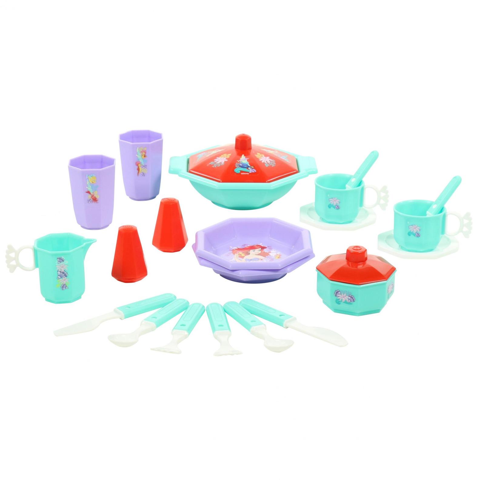 Фото - Набор Полесье Принцесса Ариэль. Готовим вместе, цвет в ассортименте полесье набор игрушек для песочницы 468 цвет в ассортименте