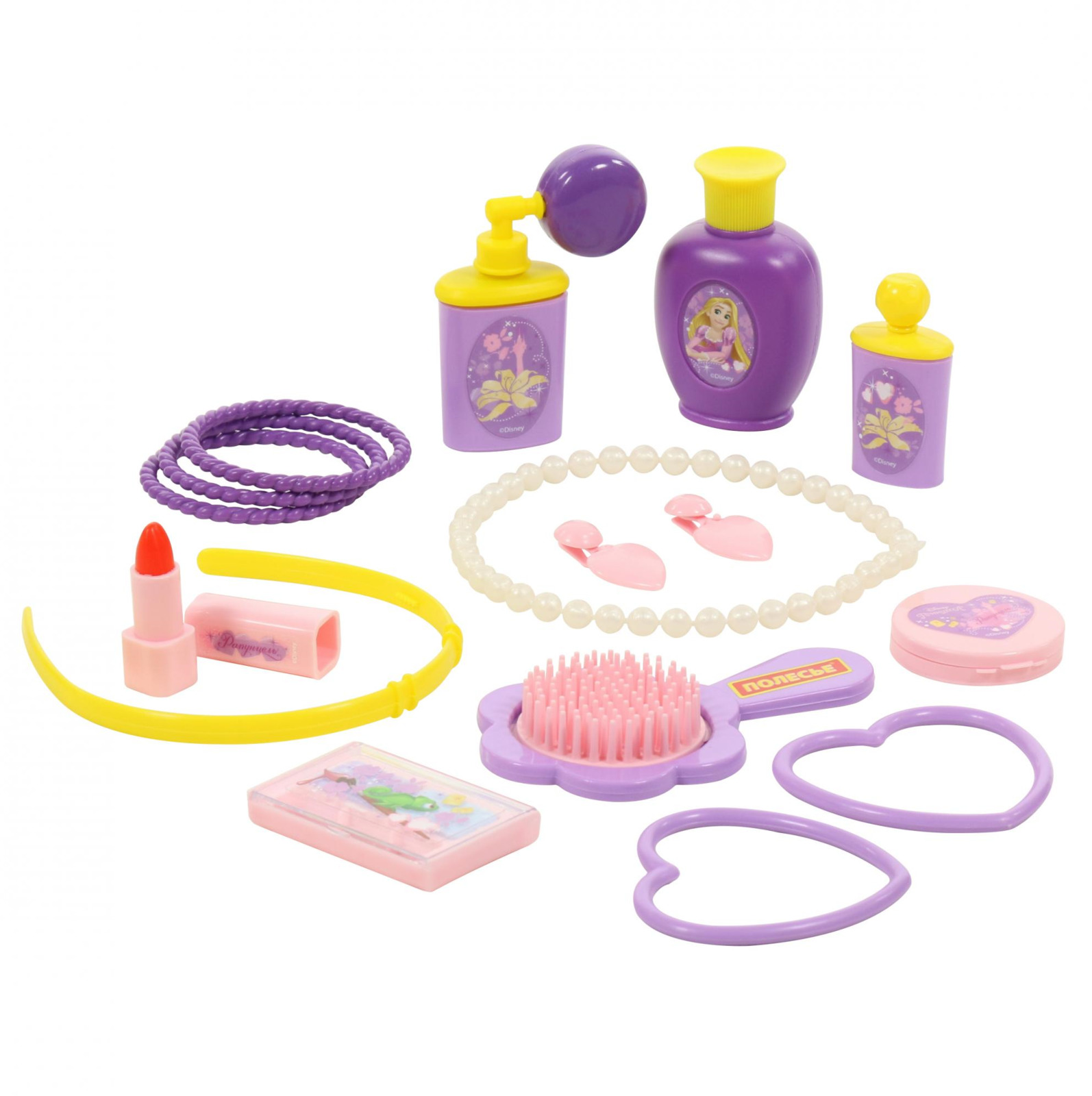 Фото - Набор Полесье Рапунцель №2. Cтань принцессой!, цвет в ассортименте полесье набор игрушек для песочницы 468 цвет в ассортименте