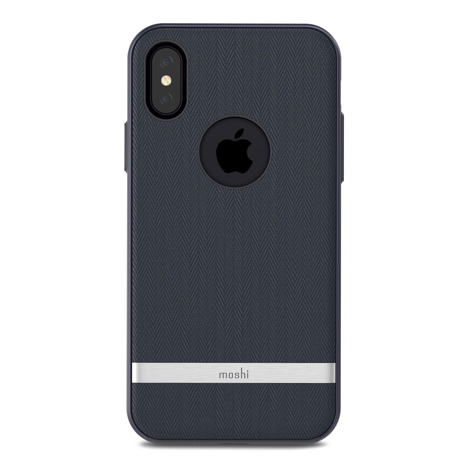 Клип-кейс Moshi Vesta для iPhone X - Blue (99MO101511) цена и фото