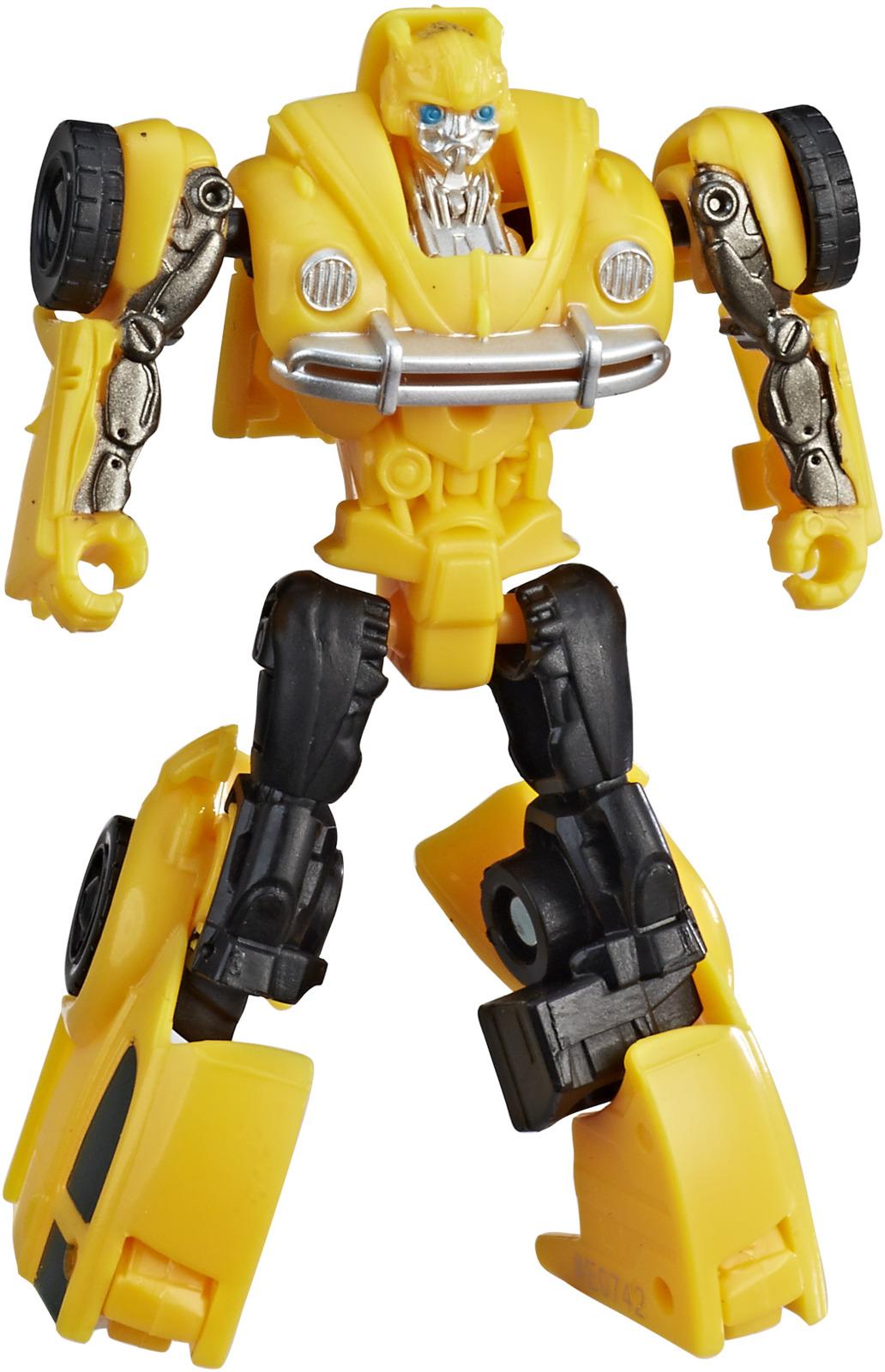 Трансформер Transformers Energon Igniters Bumblebee, E0691_E0742 автомобиль dickie трансформер bumblebee желтый 3113000