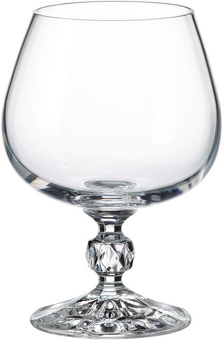 Набор бокалов для бренди Crystalite Bohemia Sterna/Klaudie, 250 мл, 6 шт набор бокалов для вина crystalite bohemia klaudie 190 мл 6 предметов