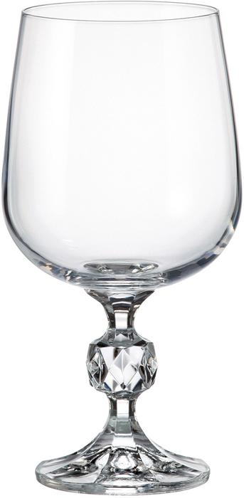 Набор бокалов для вина Crystalite Bohemia Sterna/Klaudie, 340 мл, 6 шт набор креманок 340 мл 4 шт bohemia crystal набор креманок 340 мл 4 шт