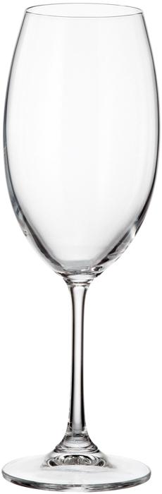 Набор бокалов для вина Crystalite Bohemia Milvus/Barbara, 400 мл, 6 шт