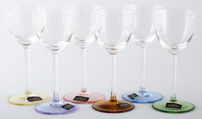 Набор рюмок для водки Crystalite Bohemia Suzanne, 60 мл, 6 шт набор рюмок для водки crystalite bohemia сафари ассорти 50 мл 6 шт 22993