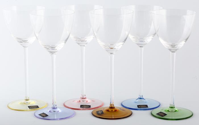 Набор бокалов для вина Crystalite Bohemia Suzanne, 200 мл, 6 шт гель для купания babyline с мятой и солодкой для детей с первых дней жизни с дозатором 250мл 10мл