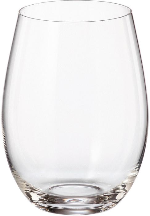 Набор стаканов для воды Crystalite Bohemia Mergus/Pollo, 560 мл, 6 шт