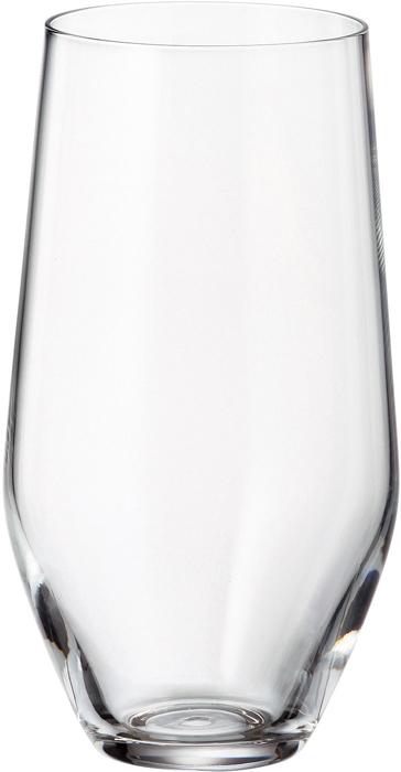 Набор стаканов для воды Crystalite Bohemia Michelle, 400 мл, 6 шт. 35718