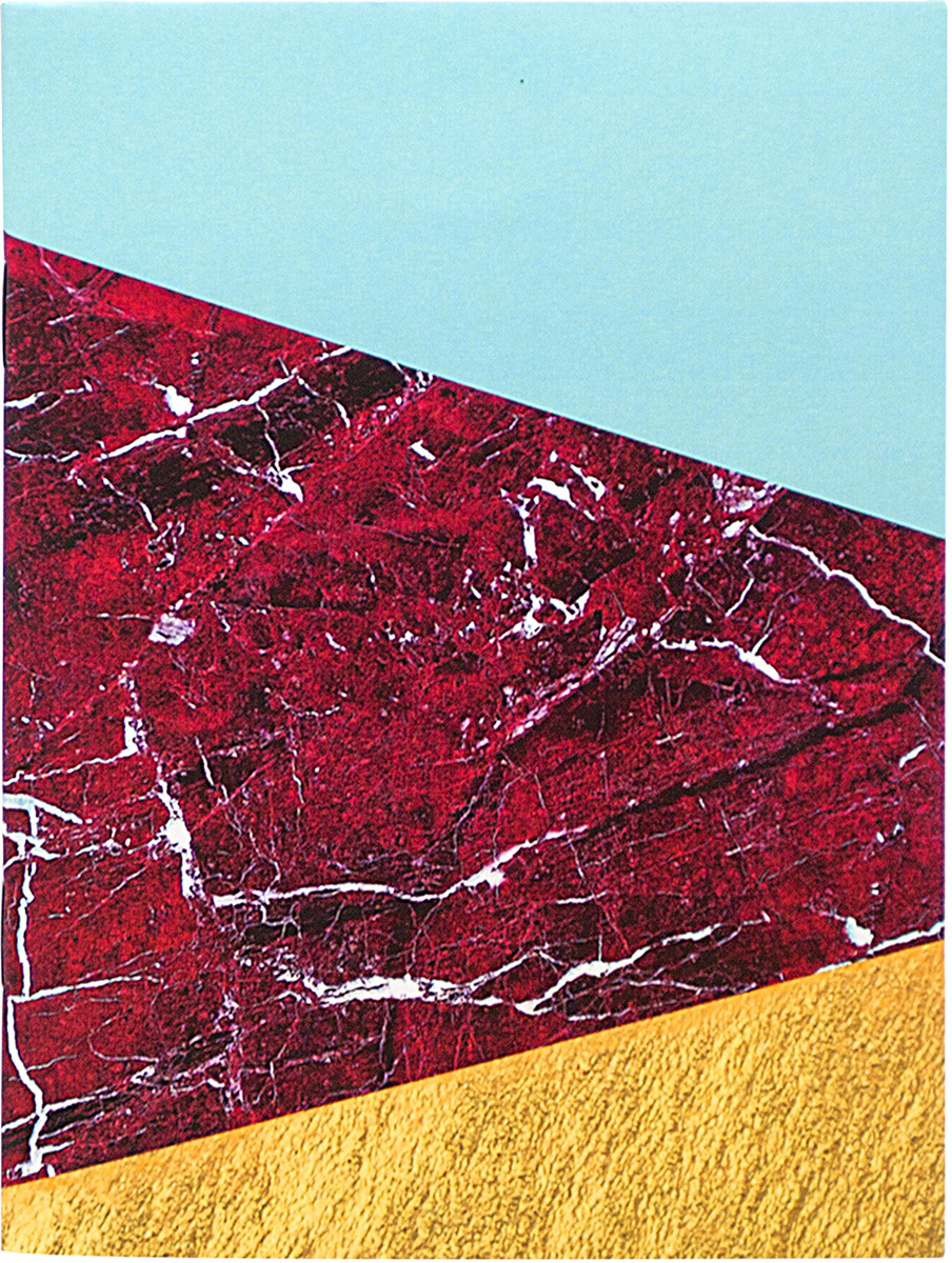 Мини-блокнот Kawaii Factory Minimal, цвет: красный, 42 листа колье kawaii factory metal цвет синий kw091 000110