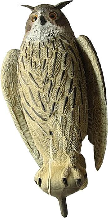 Чучело Birdland Филин, цвет: серый