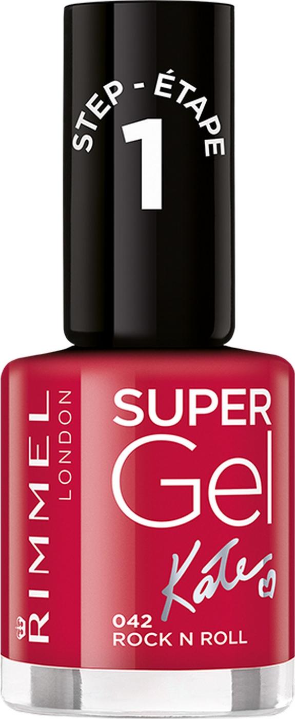 Гель-лак для ногтей Rimmel Super Gel, тон 042, 8 мл гель лак для ногтей rimmel super gel тон 050 8 мл