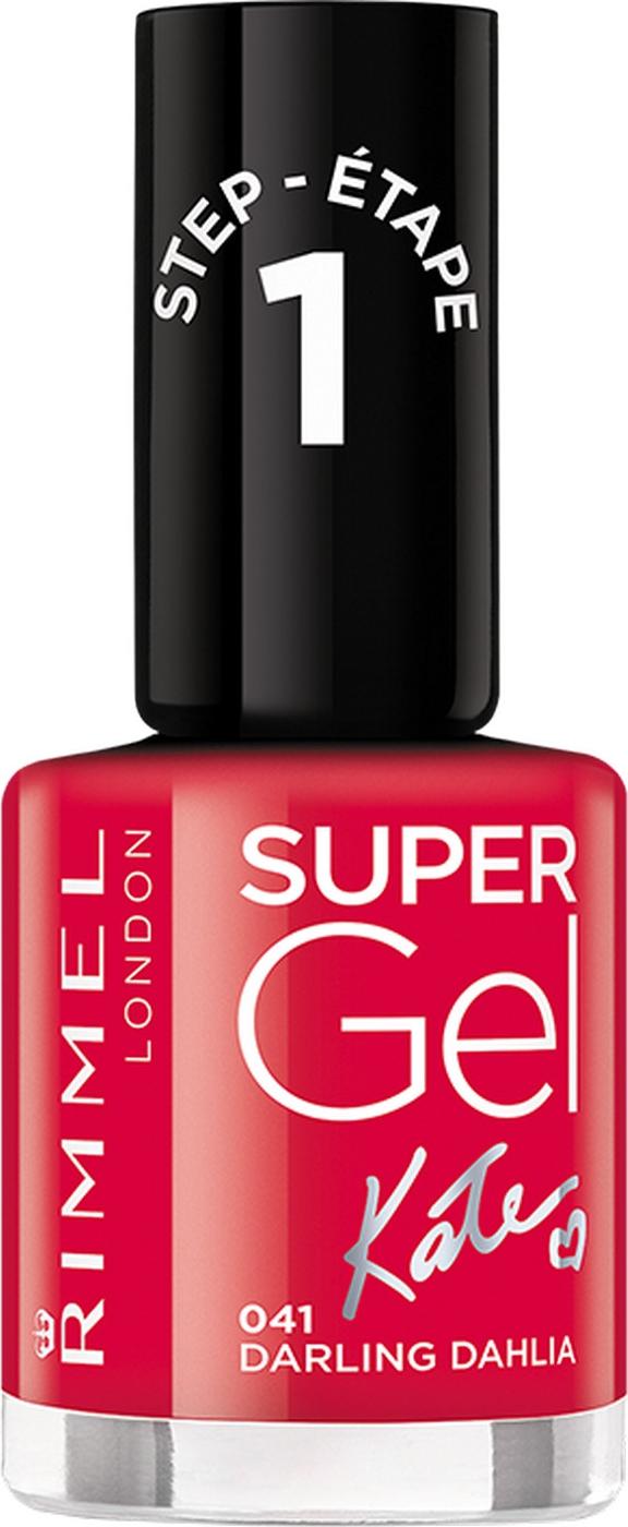 Гель-лак для ногтей Rimmel Super Gel, тон 041, 8 мл лак для ногтей rimmel 65 seconds тон 455 8 мл