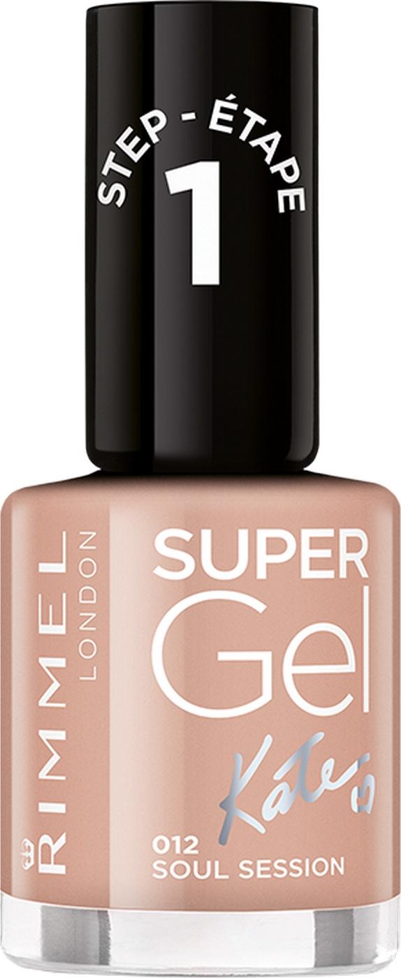 Гель-лак для ногтей Rimmel Super Gel, тон 012, 8 мл гель лак для ногтей rimmel super gel тон 050 8 мл