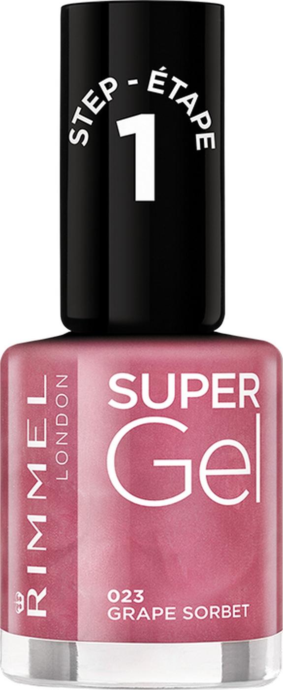 Гель-лак для ногтей Rimmel Super Gel, тон 023, 8 мл