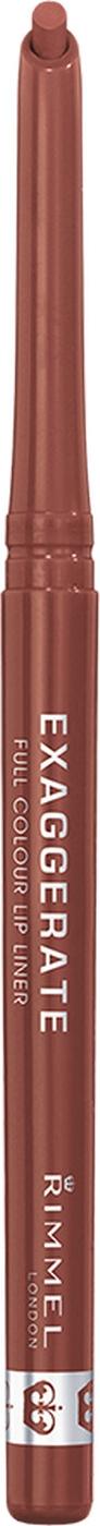 Карандаш для губ Rimmel Exaggerate, автоматический, тон 018, 0,25 г rimmel корректирующий карандаш hide the blemish 004 тон 5 2 мл