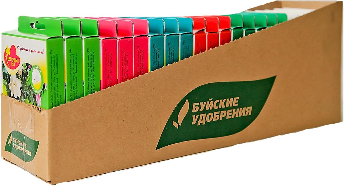 Удобрение универсальное Буйские Удобрения Цветочный рай Микс, 22 упаковки по 5 ампул по 10 мл удобрение для декоративно лиственных растений 285 мл