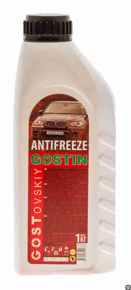 Антифриз ГОСТовский, цвет: красный, 1 кг цена
