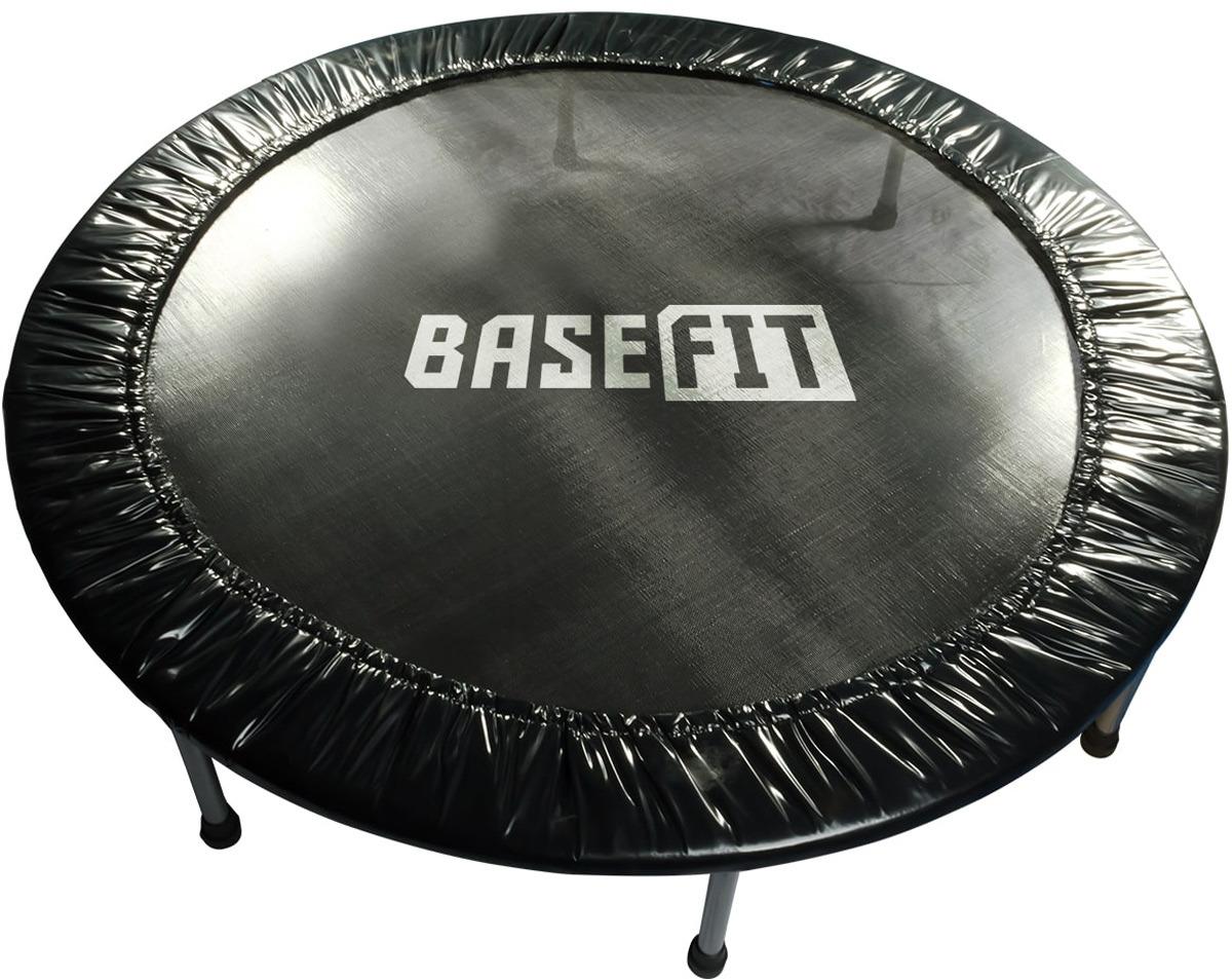 Батут Basefit TR-101, цвет: черный, диаметр 152 см