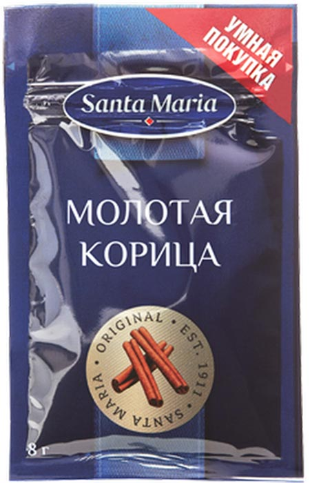 цена на Молотая корица Santa Maria, 8 г