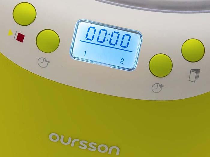 Йогуртница Oursson FE2103D/GA, Light Green