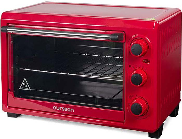 Мини-духовка Oursson MO2610/RD, Red мини духовка oursson mo3020 dc dark cherry