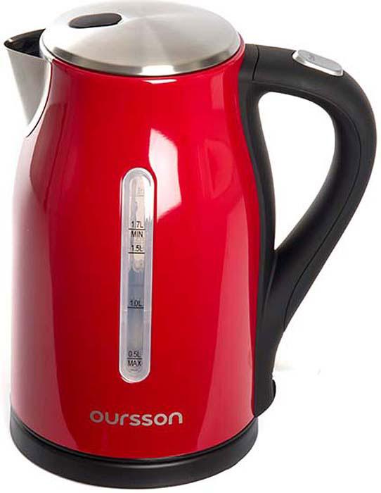 Электрический чайник Oursson EK1760M/RD, Red