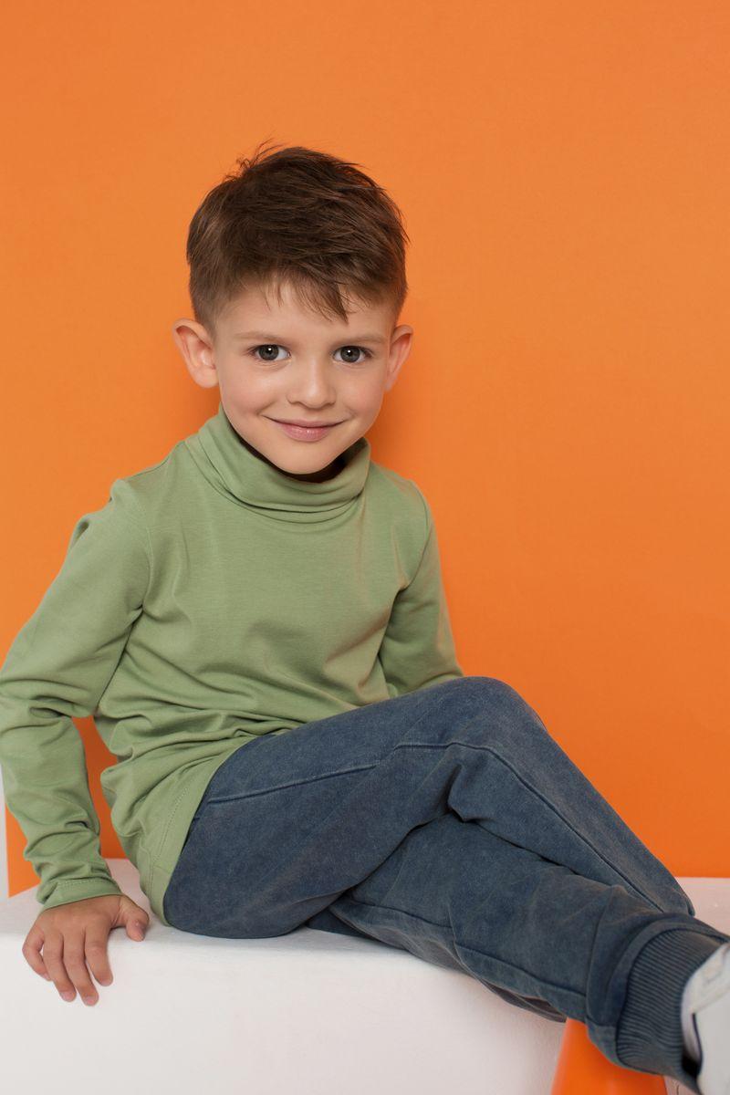 Водолазка для мальчика Kogankids, цвет: хаки. 192-318-53. Размер 104192-318-53Молочная водолазка для мальчика выполнена из натурального хлопка с добавлением эластана. Отличное тянется, что способствует удобной и комфортной посадке на ребенке. Подойдет на каждый день, для школы и детского сада. Для маленьких размеров 80-98 предусмотрена плечевая застежка на кнопки для удобства одевания.