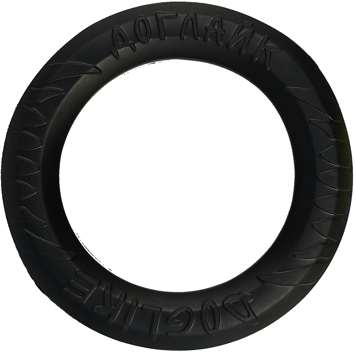 """Снаряд Каскад """"Tug & Twist DL"""", для дрессировки собак, средний, цвет: черный"""