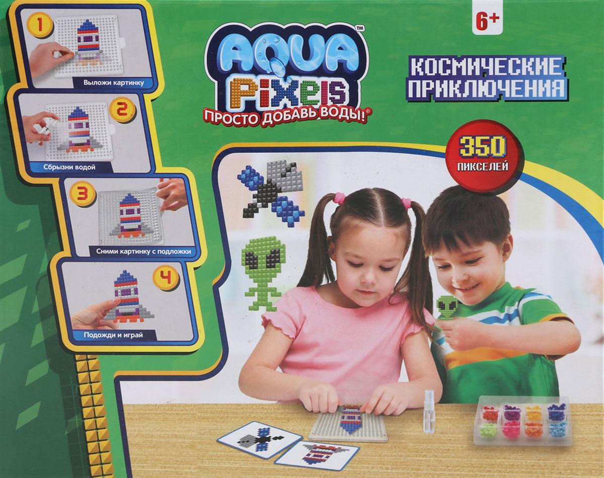"""Мозаика 1TOY Aqua Pixels """"Космические приключения"""""""