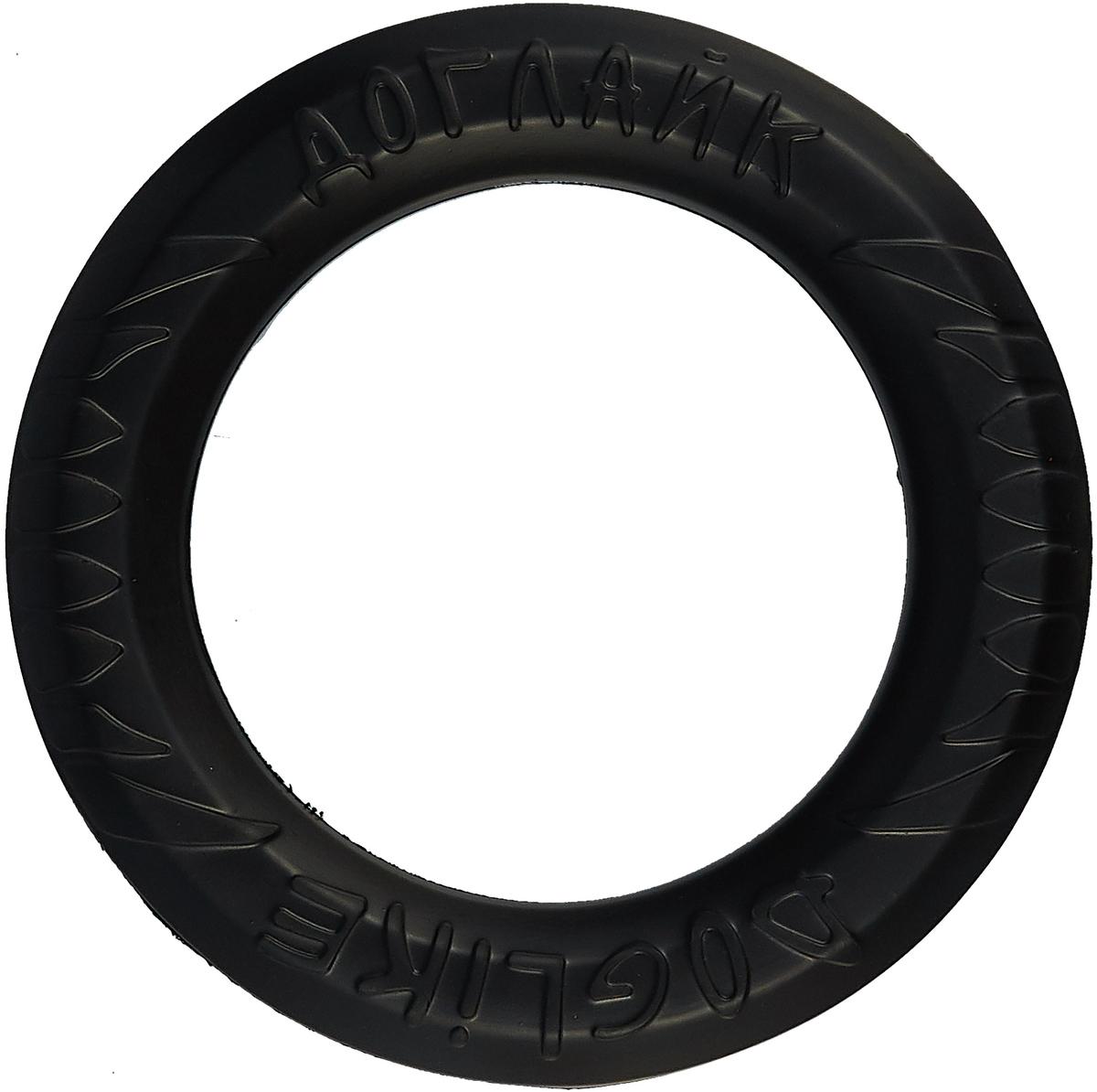 """Снаряд Каскад """"Tug & Twist DL"""", для дрессировки собак, большой, цвет: черный"""