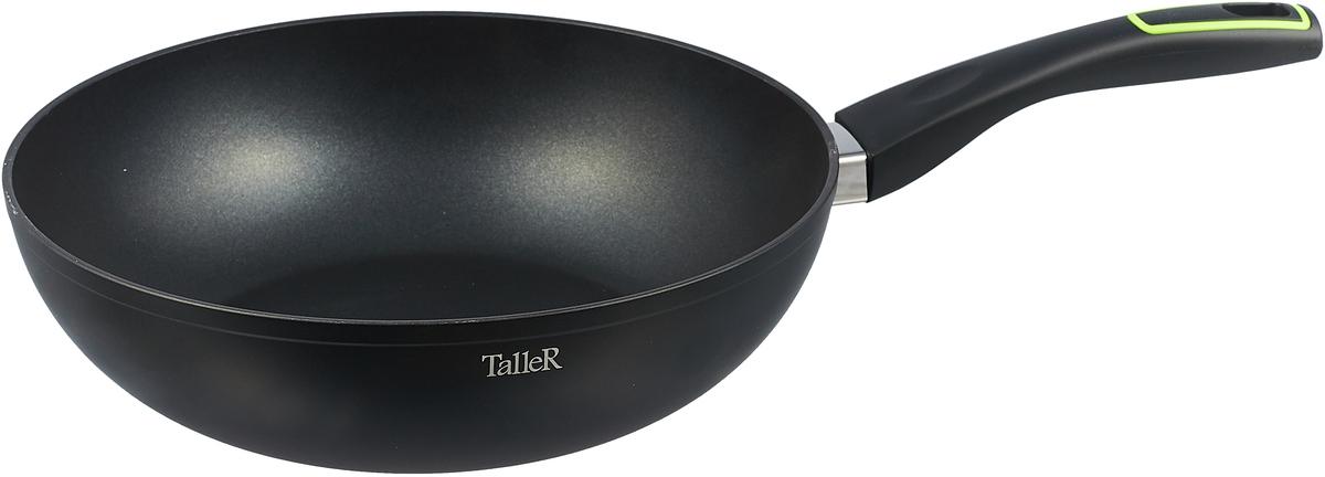 Сковорода вок Taller, с тефлоновым покрытием. Диаметр 28 см. TR-4145
